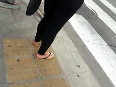 candid feet black girl
