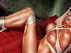 BDSM Art Perfect Slaves in Dungeon