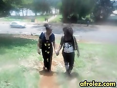 Lesbian action with busty Ebonies OTHER