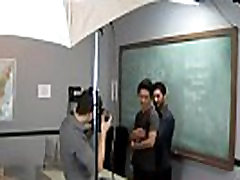Gay boy sex student Just another day at the Teach Twinks office!