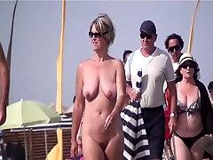 French nudist beach Cap d&039;Agde people walking nude 09