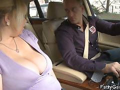 Chubby blonde bbw picks up him for sex