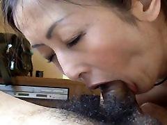 Asian milf pov blowjob