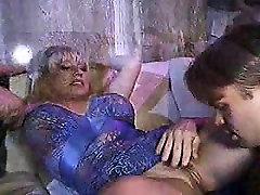 Huge boobs Milf Karen Fisher threesome