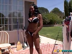 Baby Cakes&039; Big Black Ass Bounces on a Cock