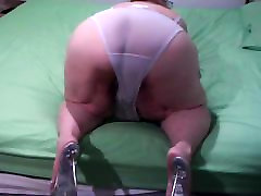 ass show with new shoues and camra