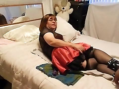 Best homemade shemale clip with Interracial, Mature scenes