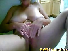 My MILF Exposed Granny with big tits playing on cam