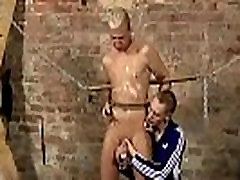Gay bondage young xxx Drained Of Cum Through
