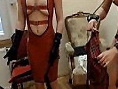 Kinky Lesbian Latex StepMom Domina Strap-ON Force Fuck WatchSexCam.com