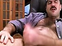 Bear daddy jerk off