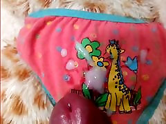 Cum on little panties