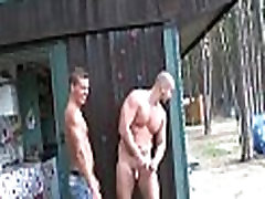 Two homosexual males fuck hard
