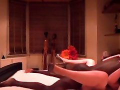 Amazing Amateur video with BBW, Interracial scenes