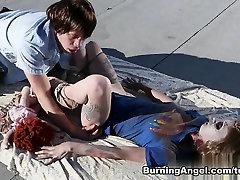 Fabulous pornstar Wolf Hudson in Amazing Gothic, Cumshots porn scene