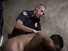Gay police sex dick video and xxx hot nude of Suspect on the Run,