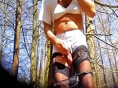 Fabulous homemade shemale movie with Outdoor, Solo scenes