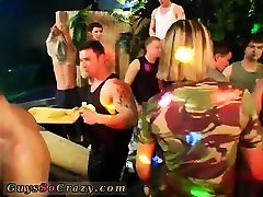 Gay bug parties and black dick sucking party first time Time