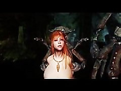 Skyrim - Redhead dungeon delver captured, ravished, and forced by many monsters