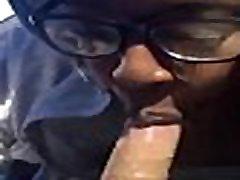 Ebony bbw coworker sucks me off on break - part2 at zetacams.com