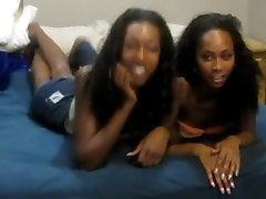 Horny pornstars Royce Rae and Larisha Layla in best masturbation, lesbian porn scene