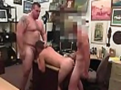 Straight boys kiss tube gay Guy completes up with anal invasion romp