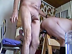 Incredible amateur gay video with YoungOld, Group Sex scenes