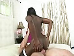 Round and Brown - Ebony Godess Suck And Fuck Stiff White Dick 03