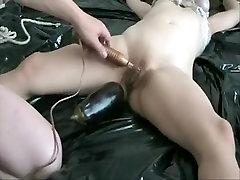 Fabulous homemade Blonde, BDSM sex video