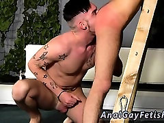 Gay bondage porno with toys in the ass Adam Watson loves not