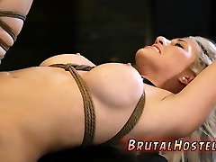 Best bdsm Big-breasted ash-blonde sweetie Cristi Ann is on v