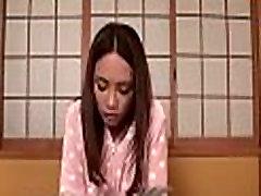 Breasty asian&039s lusty masturbation