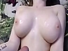 Cums up on the tits of an unfamiliar girlfriend sexyboobs.org