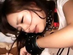 Horny Japanese girl Yuki Aoi, Anri Nonaka, Rio Sakura in Exotic POV, BDSM JAV clip