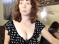 Mature Redhead Milf Masturbation and Strapon