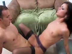 Black haired babe get fucked hard.mp4