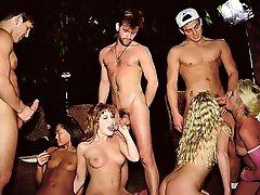 Orgy at the Tennis Club