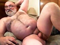 Mature Man Jim Masturbates