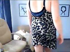 webcam European Busty Mature tease