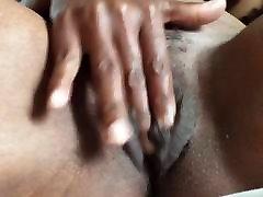 Ebony goddess solo mature pussy masturbation part 1