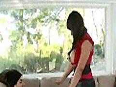 Banging Sexy Ebony Aryana Adin