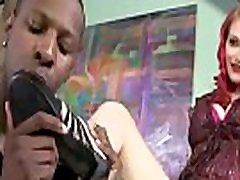 Black Meat White Feet - Interracial Foot Porn Fetish Video 05