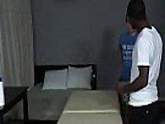 Blacks On Boys - Gay Hardcore Nasty Interracial Fuck Movie 16