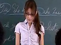 Asian Female-Teacher is groped and abused