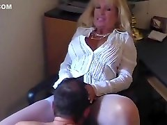 Incredible Amateur record with Blonde, Mature scenes