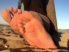 Male Beach Feet