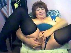 Crazy amateur Stockings, Solo Girl xxx scene