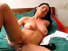 Hottest pornstar in exotic ass, big tits sex clip