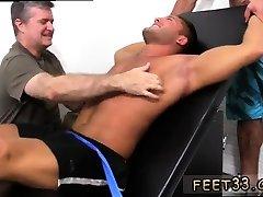 Gay legs fetish porn xxx Muscular Tyrell Tickled