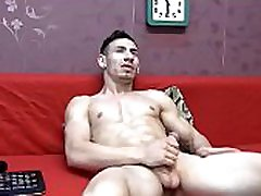 Romanian Handsome Boy Cums On Cam